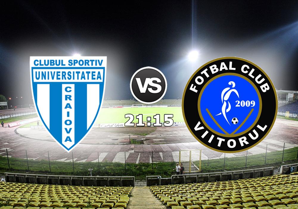 Biletul Zilei CS Universitatea Craiova vs FC Viitorul D.07.Mai