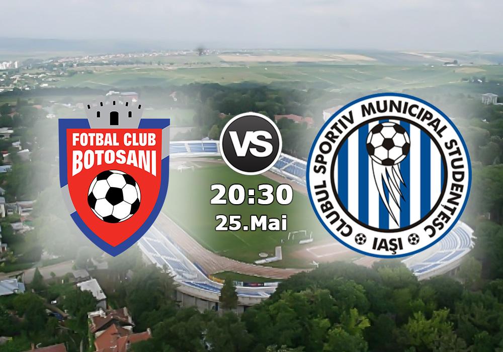Biletul Zilei FC Botosani vs CSMS