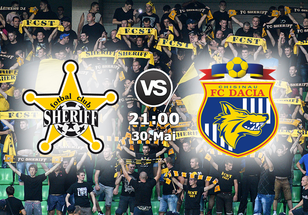 Biletul Zilei Sheriff Tiraspol vs Dacia Chisinau