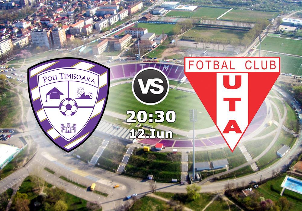Biletul Zilei ACS Poli Timișoara vs UTA Arad