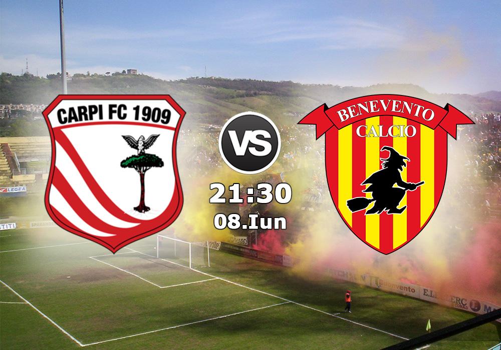 Biletul Zilei Benevento vs Carpi