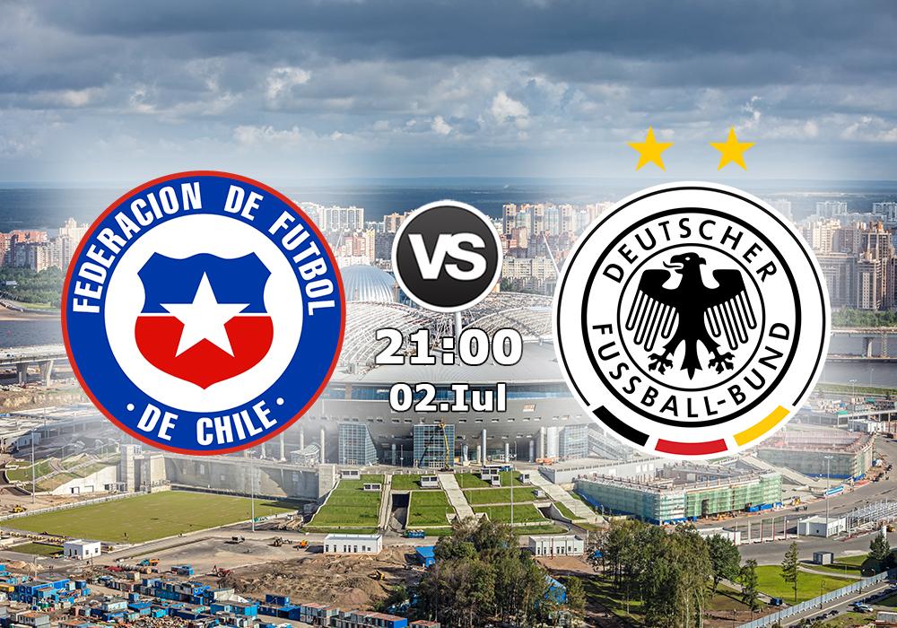 Biletul Zilei Chile vs Germania
