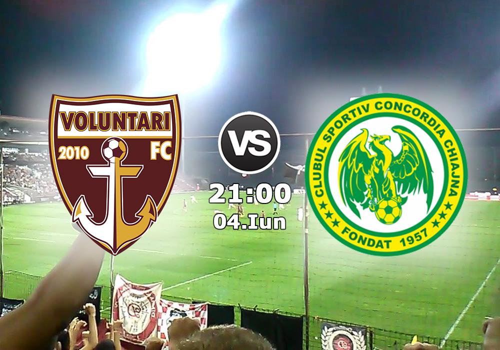 Biletul Zilei FC Voluntari vs Concordia Chiajna
