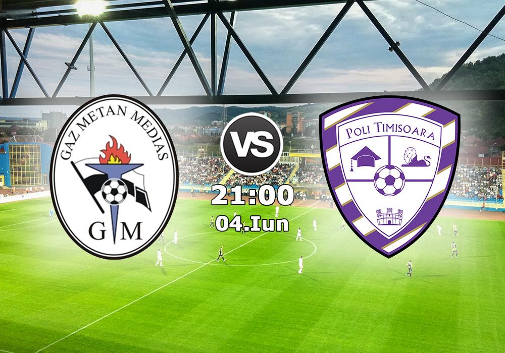 Biletul Zilei Gaz Metan Medias vs Poli Timisoar