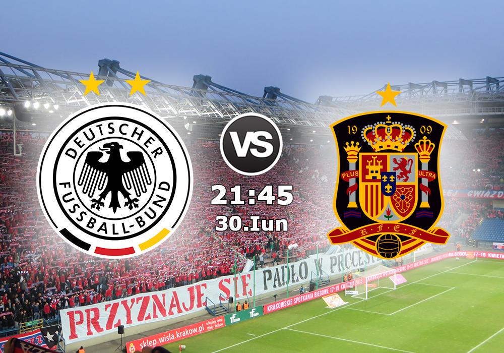 Biletul Zilei Germania U21 vs Spania U21