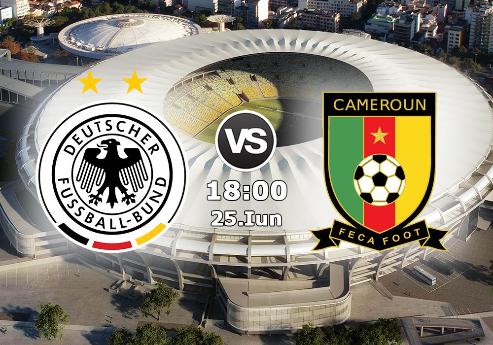 Biletul Zilei Germania vs Camerun