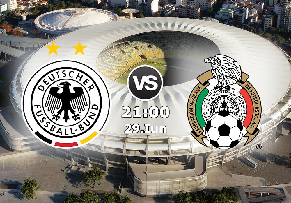 Biletul Zilei Germania vs Mexic