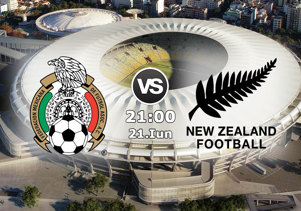 Biletul Zilei Mexic vs Noua Zeelandă
