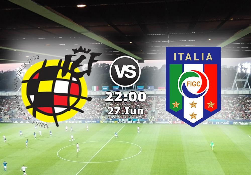 Biletul Zilei Spania U21 vs Italia U21