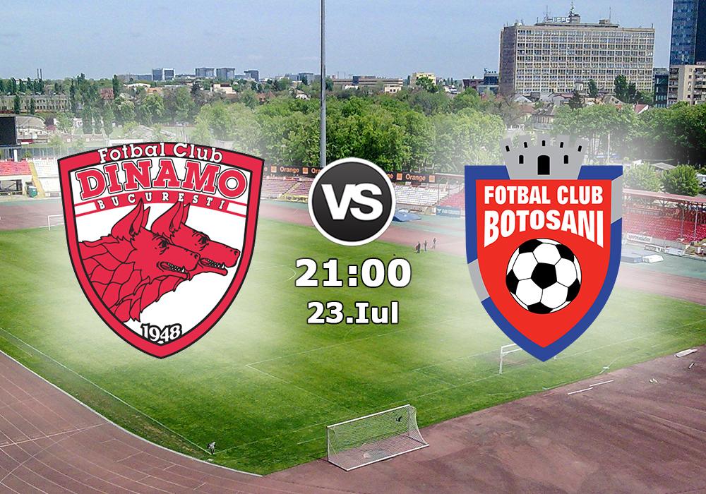 Biletul Dinamo - FC Botosani