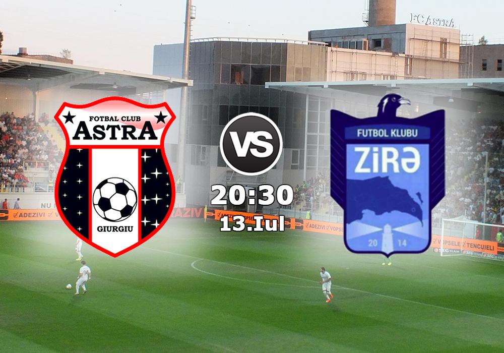 Biletul Zilei Astra Giurgiu vs Zira