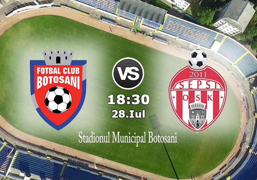 Biletul Zilei FC Botosani - Sepsi