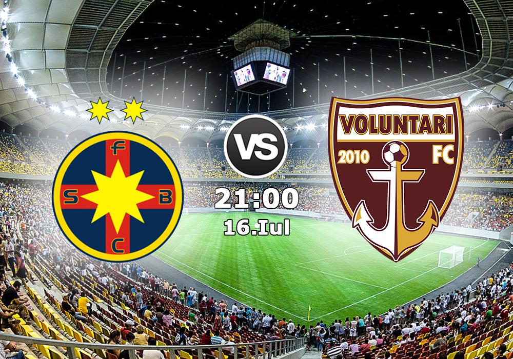 Biletul Zilei FC Steaua Bucuresti vs FC Voluntari
