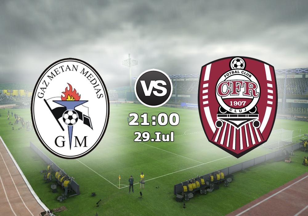 Biletul Zilei Gaz Metan Medias vs CFR Cluj