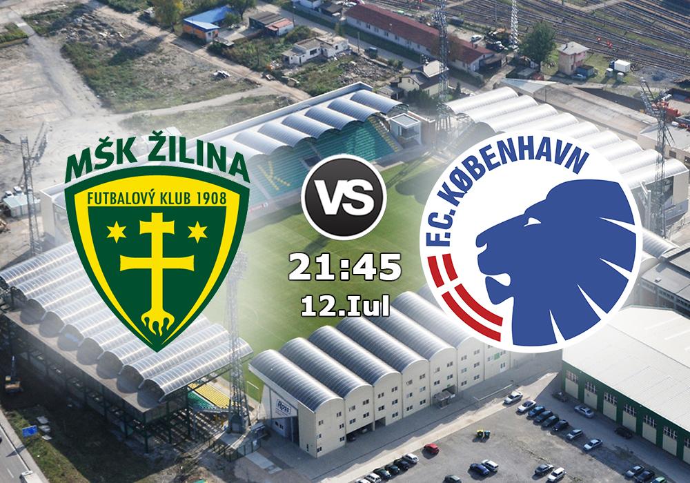 Biletul Zilei Zilina vs FC Copenhaga