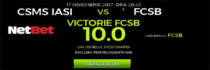 netbet CSMS vs FCSB