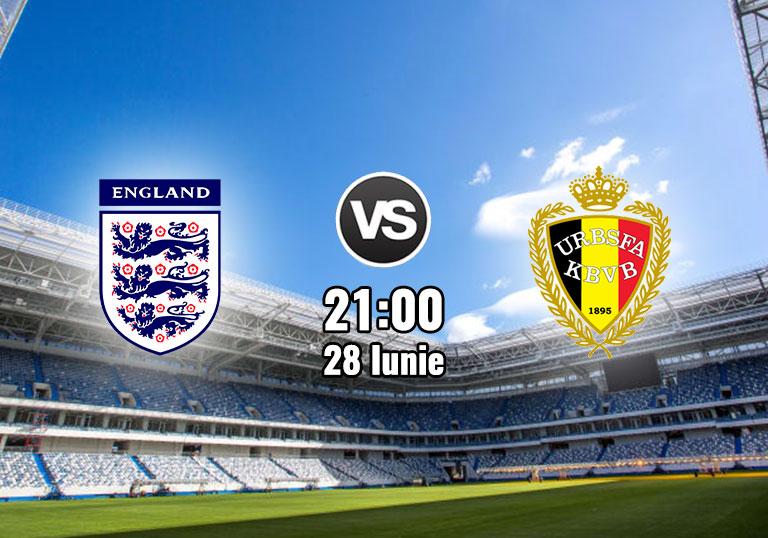 Anglia vs Belgia