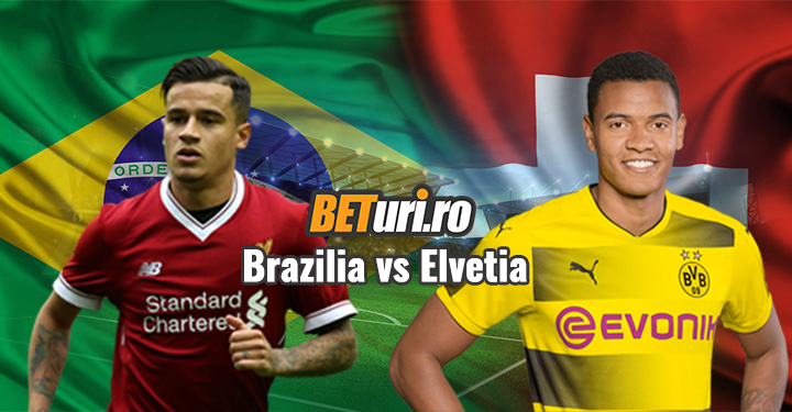 Brazilia Elvetia cupa mondiala