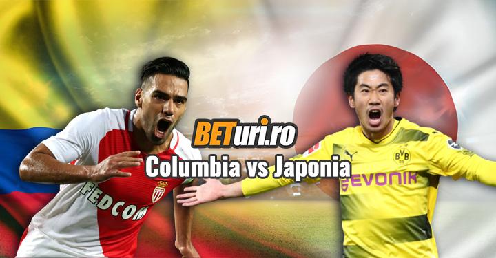 Columbia vs Japonia
