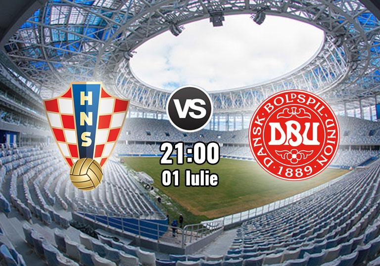 Croatia vs Danemarca