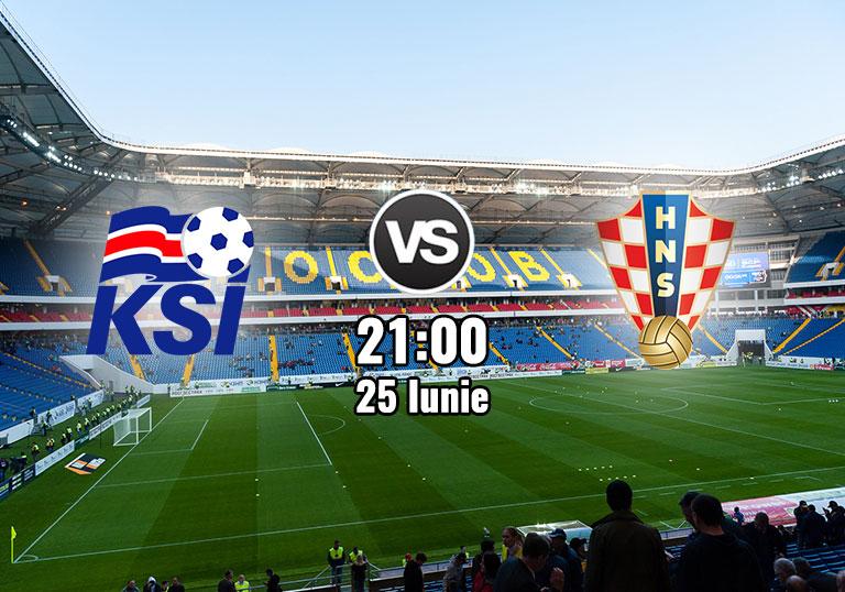 Islanda vs Croatia