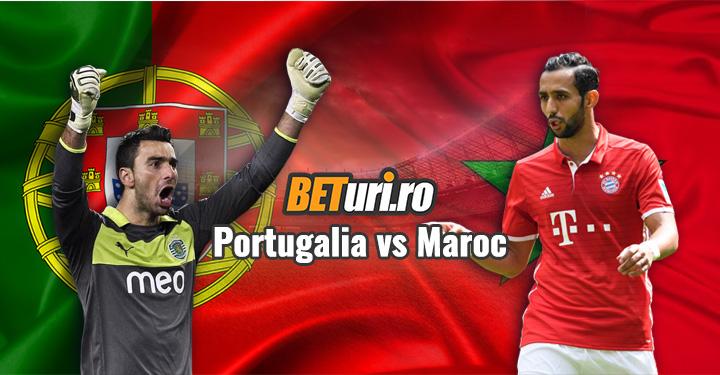 Portugalia vs Maroc CM Rusia 2018