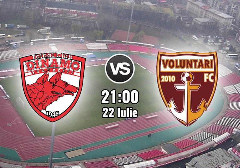 FC Voluntari - Dinamo 1-2. Andone s-a certat cu fanii ...  |Dinamo București-voluntari