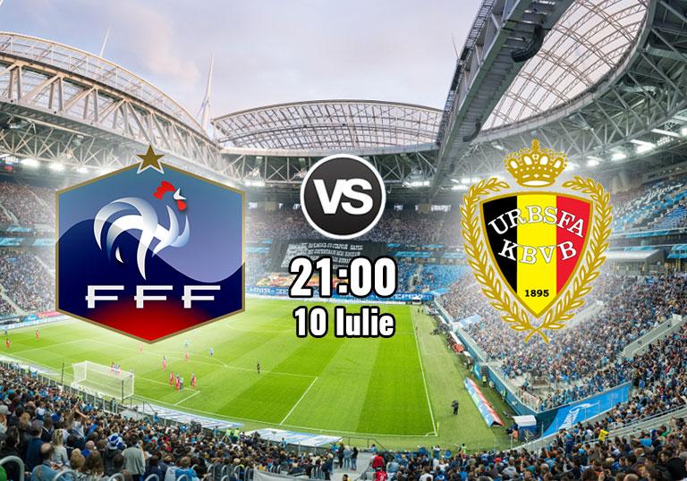 Franta vs Belgia