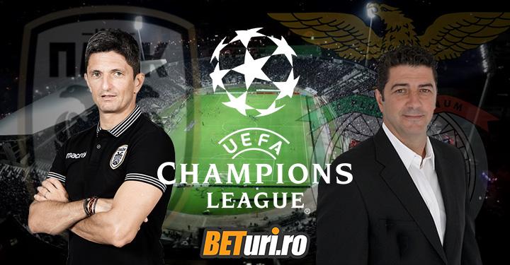 PAOK vs Benfica Lisabona