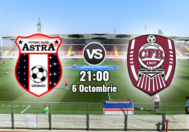 Astra Giurgiu vs CFR Cluj