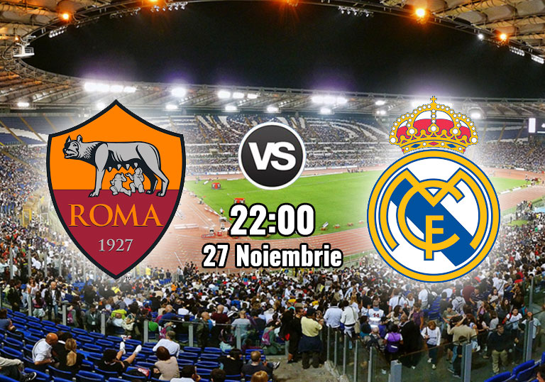 UEFA Champions League, AS Roma, Real Madrid