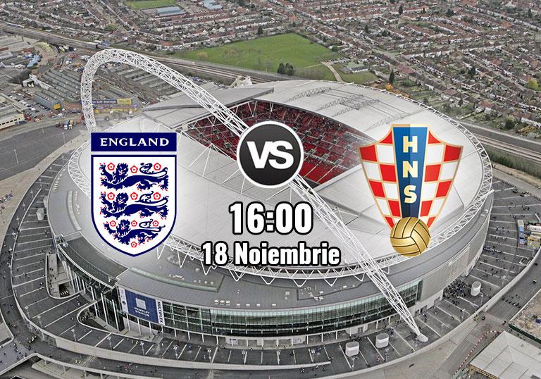Liga Națiunilor, Anglia, Croația