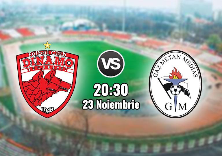 Liga 1, Dinamo, Gaz Metan Mediaș