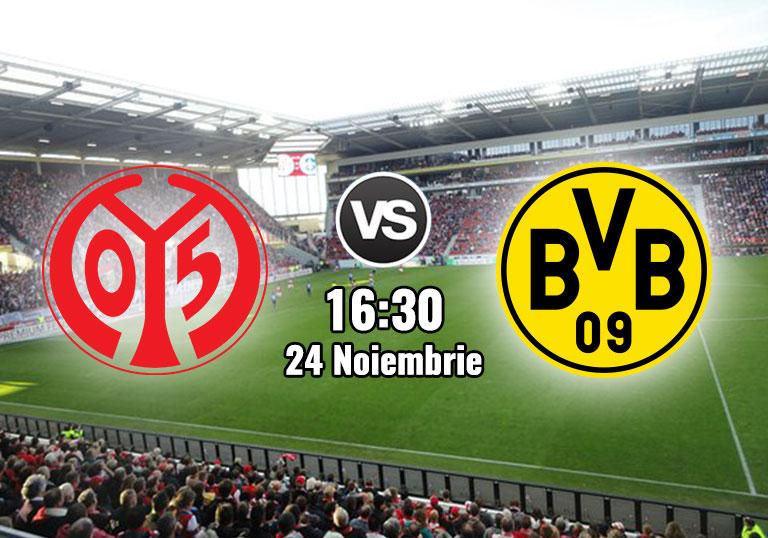 Bundesliga, Mainz. Borussia Dortmund