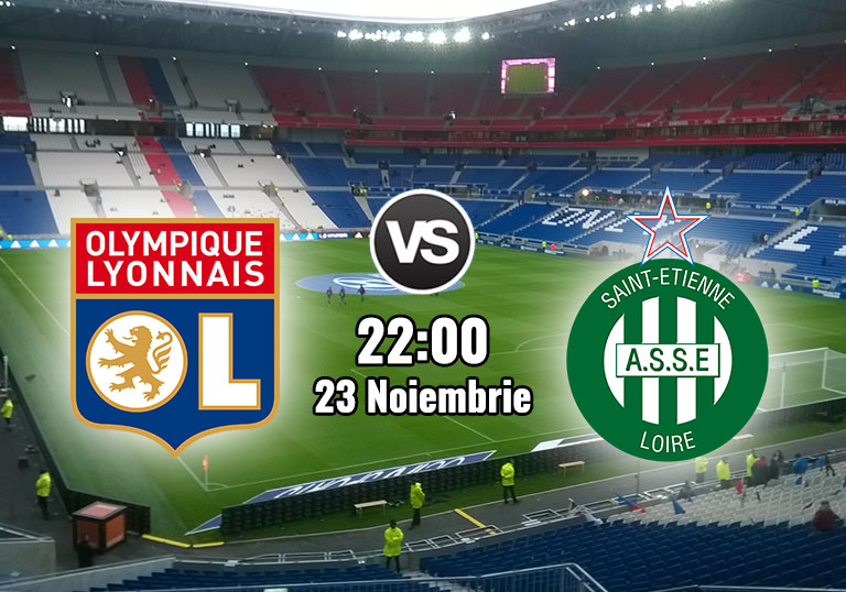 Ligue 1, Olympique Lyon, Saint Etienne