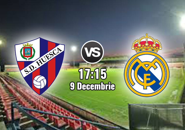 La Liga, Huesca, real Madrid