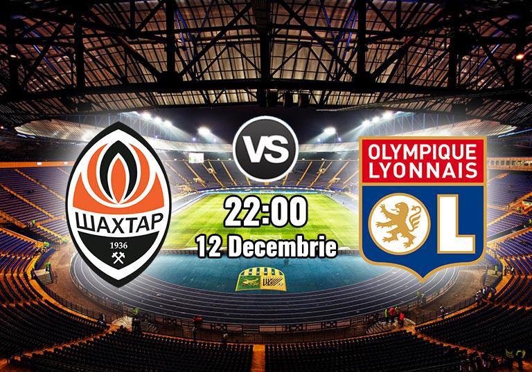UEFA Champions League, Shakhtar,Lyon