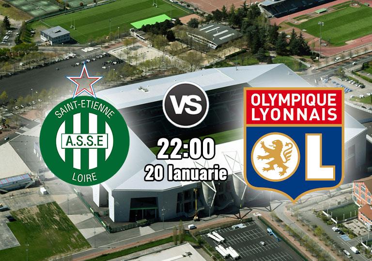 Ligue 1, Siant Etienne, Lyon