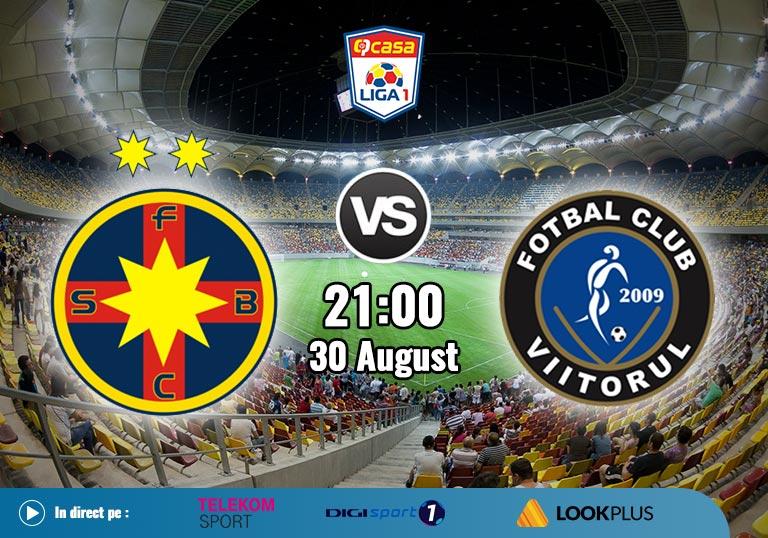 FCSB vs Viitorul Constanta, Liga 1, 2020
