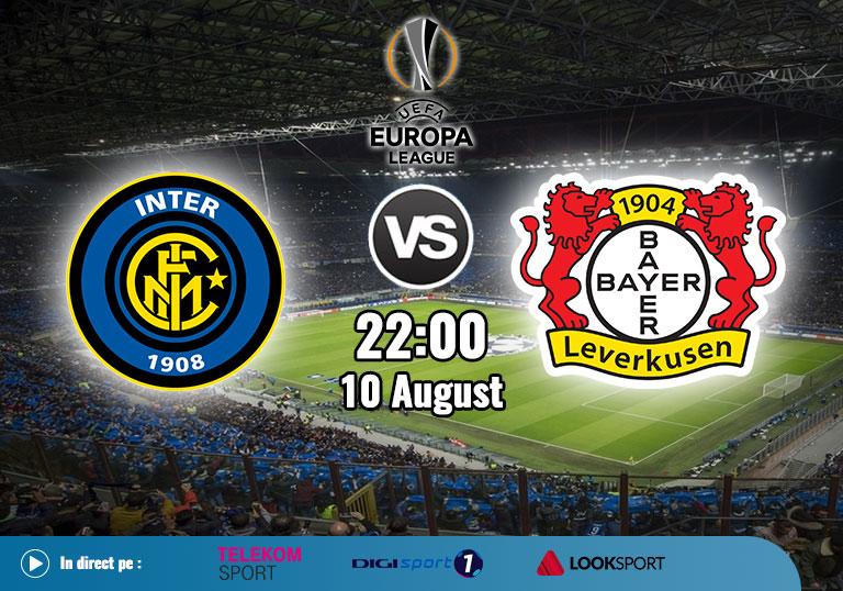 Inter vs Bayer Leverkusen, Europa League 2020
