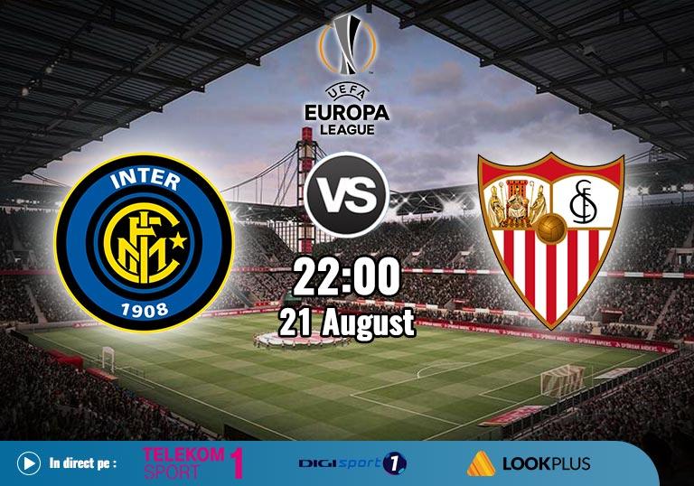 Finala Europa League 2020, Inter vs Sevilla