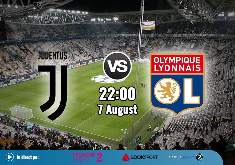 Juventus-vs-Lyon Champions League 2020