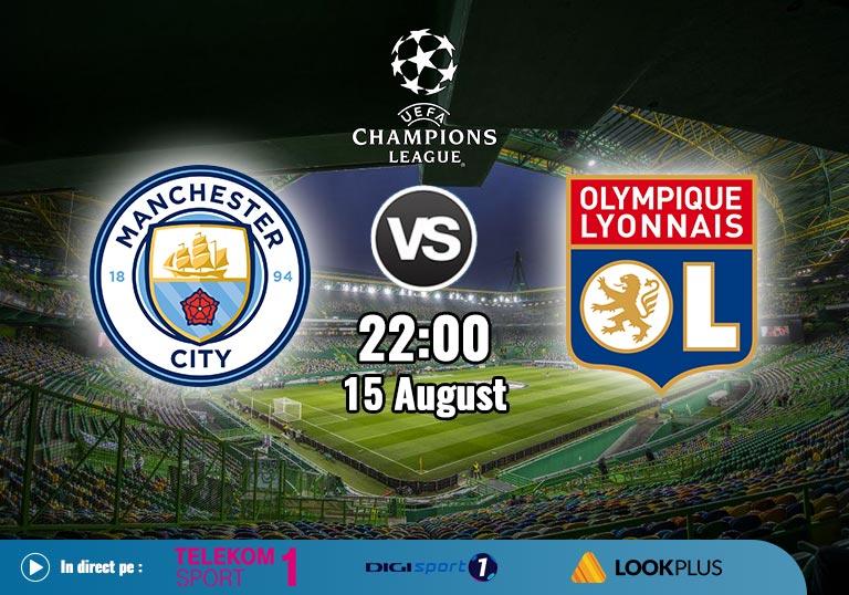 Man City vs Lyon, UEFA Champions League 2020