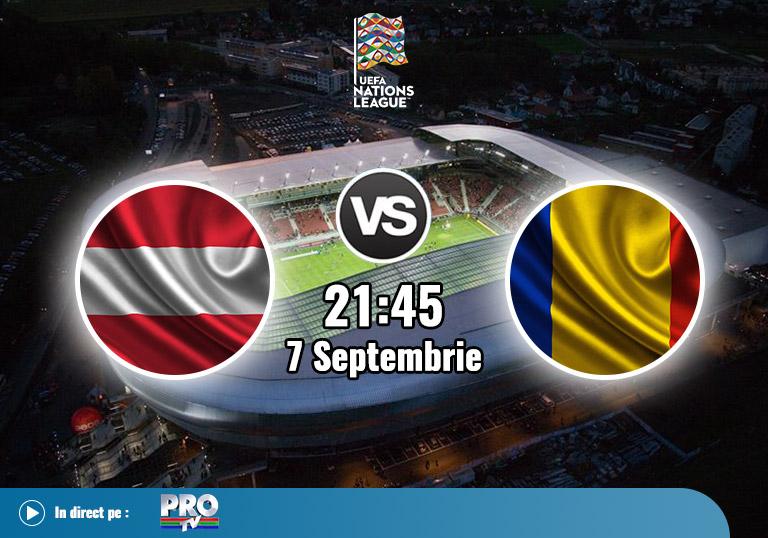 Austria vs Romania, Liga Natiunilor, 2020