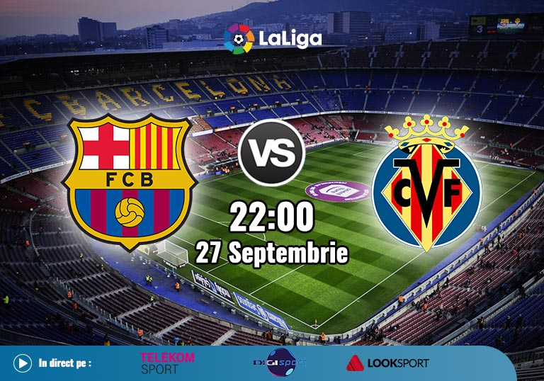 Barcelona Villarreal, La Liga, 2020