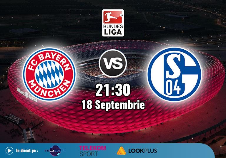 Bayern Schalke, Bundesliga, 2020
