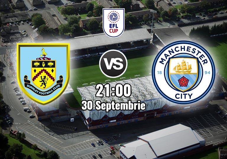 Burnley Manchester City, EFL Cup, 2020