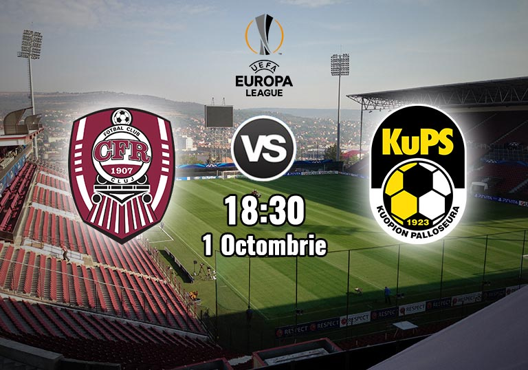 Meci CFR Cluj KuPS, Playoff UEL, 2020