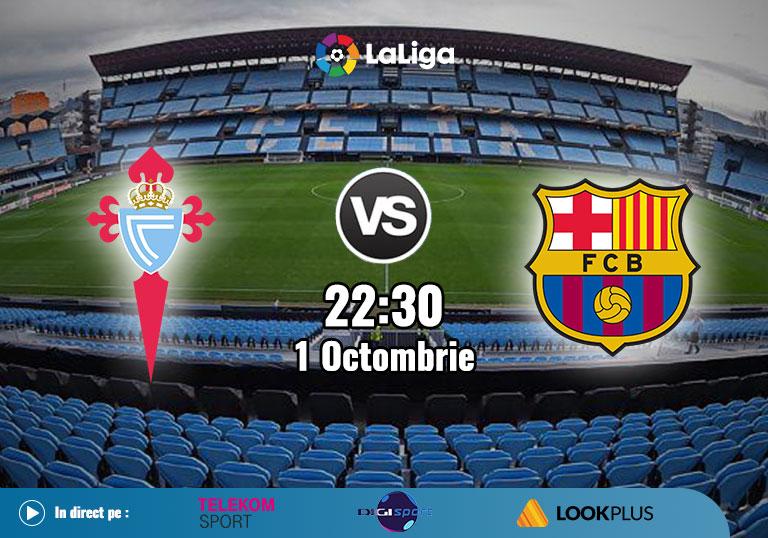 Celta Vigo Barcelona, La Liga, 2020