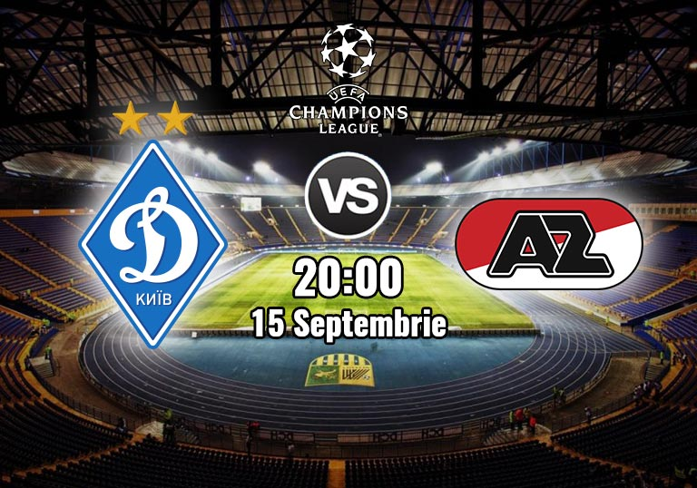 Preliminariile Ligii Campionilor, Dinamo Kiev vs AZ Alkmaar, 2020